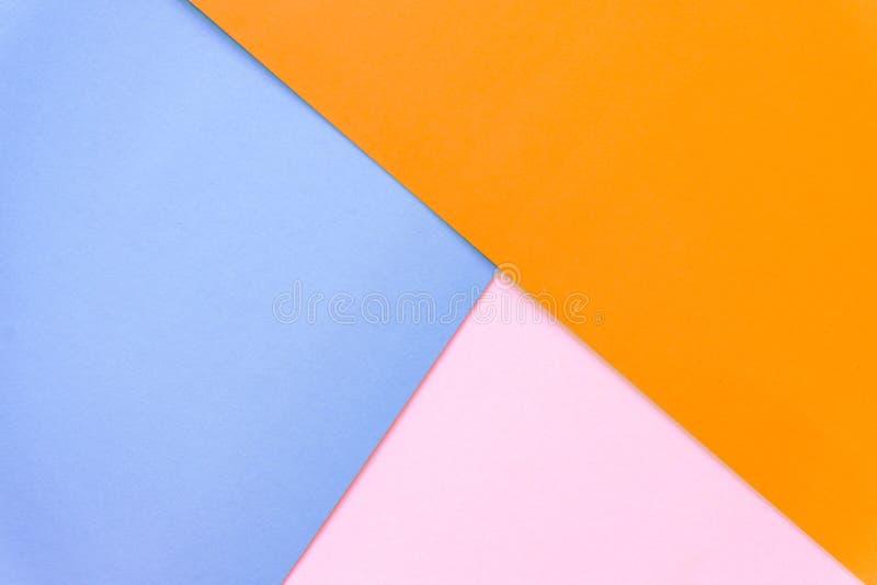 Multicolor предпосылка от бумаги других цветов стоковое изображение rf