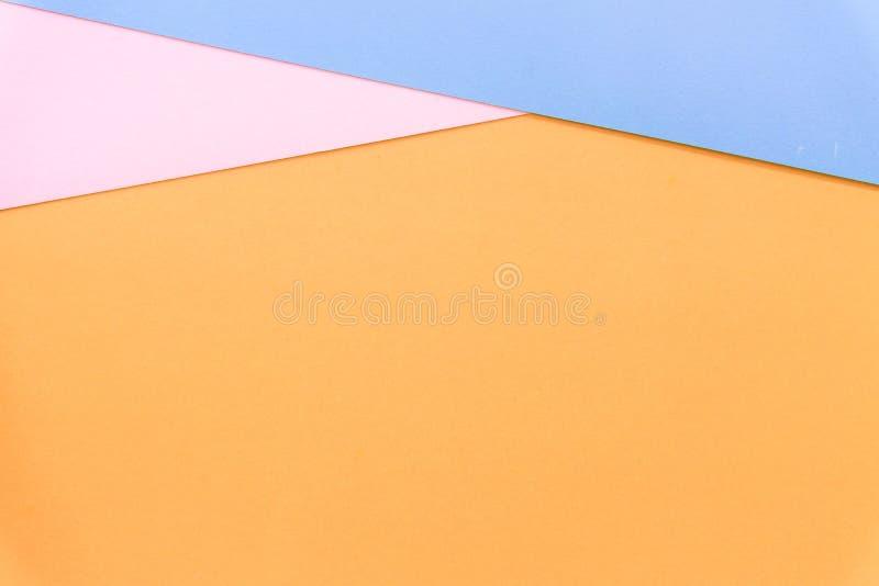 Multicolor предпосылка от бумаги других цветов стоковые фотографии rf