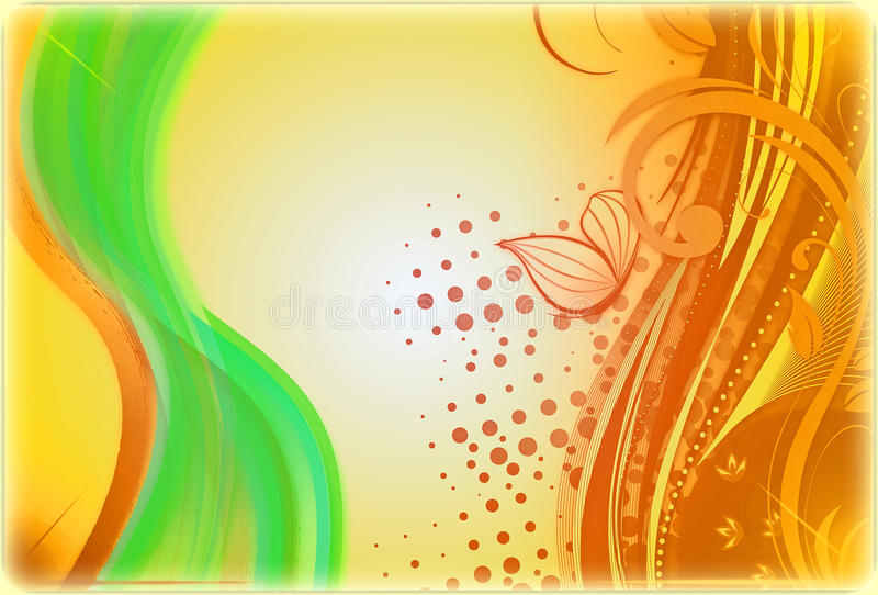 Multicolor Abstract Baground by PH royalty free illustration