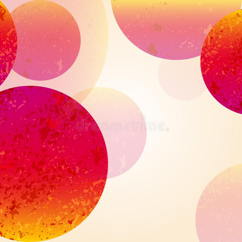 Multicolor abstract bright background. Circles elements for design. Eps10. Vector illustration royalty free illustration