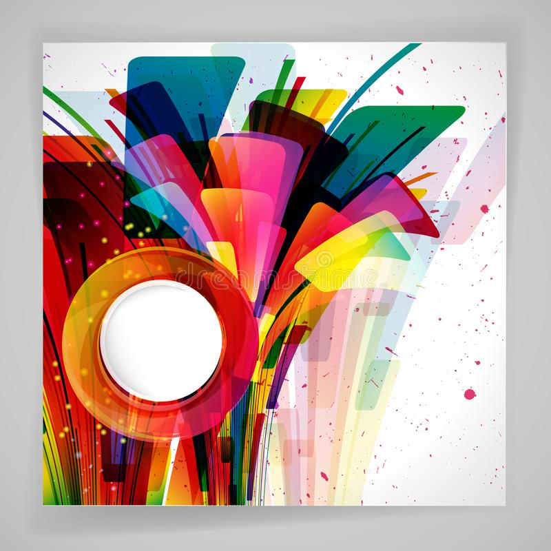 Multicolor abstract bright background. Elements for design. Eps10 vector illustration