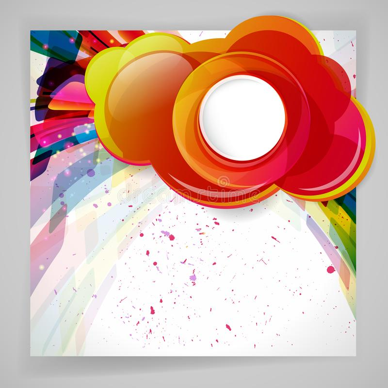 Multicolor abstract bright background. Elements for design. Eps10. Vector illustration vector illustration