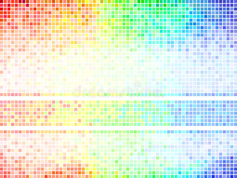 Multicolor abstract tile background vector illustration