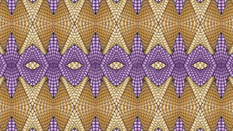 Multicolor abstrakcjonistyczny symmetric tło dla drukować na clothin ilustracja wektor