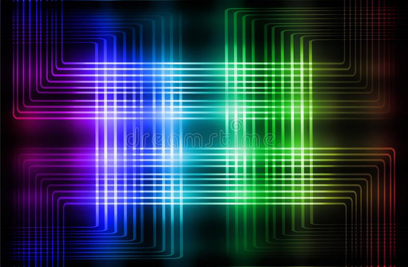 Multicolor background. Abstract multicolor background with motion blur royalty free illustration
