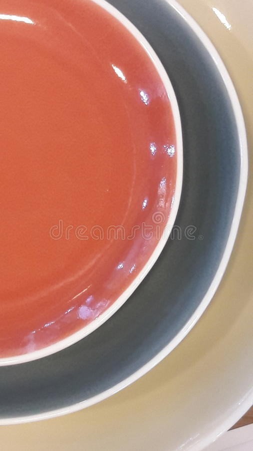 Multicolor ceramiczny handmade zdjęcie stock