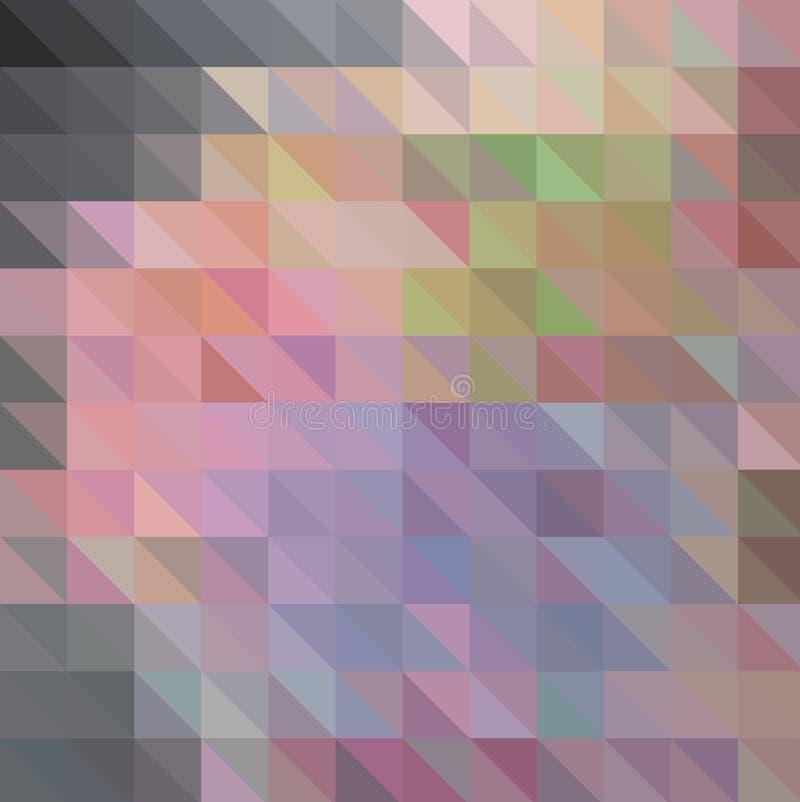 Multicolor geometryczny tr?jgraniasty niski poli- styl Gradientowy t?o ilustracja wektor