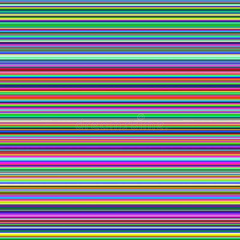 Multicolor horizontal stripes, abstract gradient background royalty free illustration