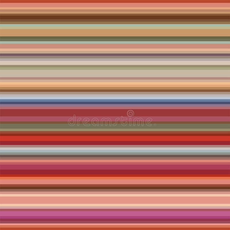 Multicolor horizontal stripes background stock photos