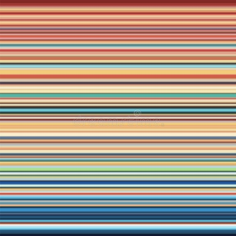 Multicolor horizontal stripes background royalty free stock image