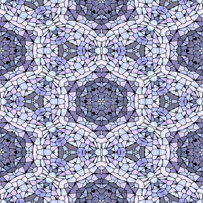 Multicolor kaleidoscopic seamless background stock photo