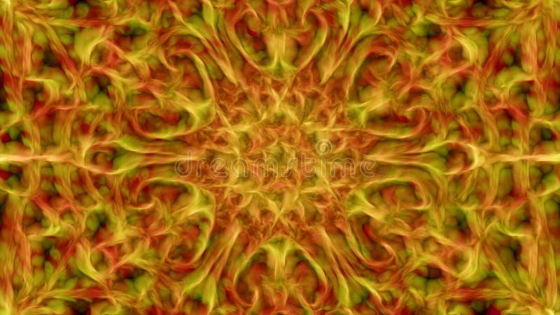 Multicolor plamy abstrakcjonistyczny tło jest komputerowymi grafika dla th ilustracja wektor