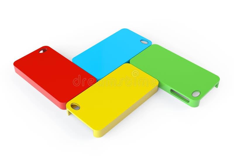 Download MultiColor Plastic Mobile Phone Cases Stock Photo - Image: 33311610