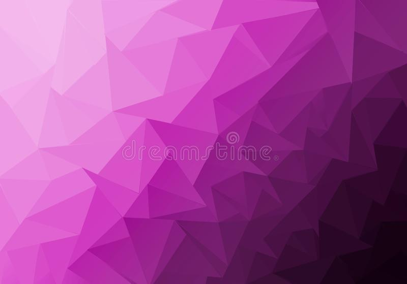 Multicolor polygonal illustration, which consist of triangles. Geometric background in Origami style with gradient. Triangular. Design for your business stock image