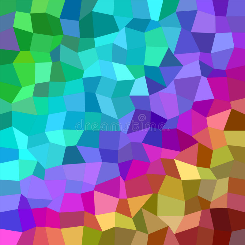 Multicolor rectangle mosaic vector background stock photography