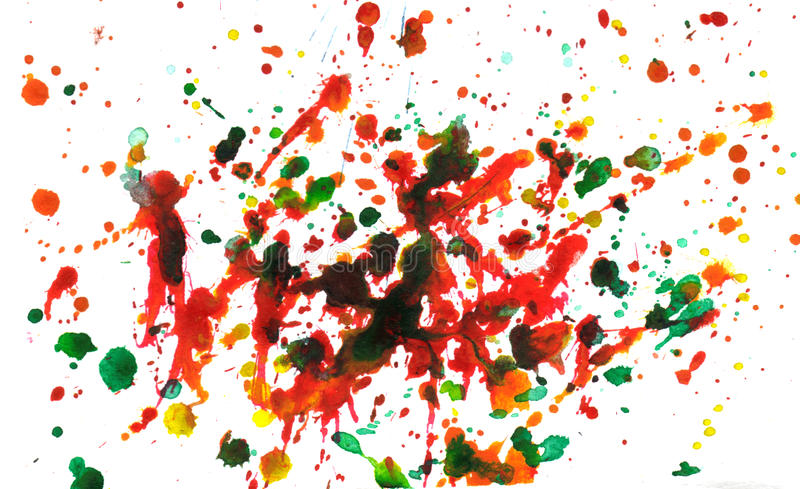 Download Multicolor splatter stock photo. Image of grungy, composition - 22510758