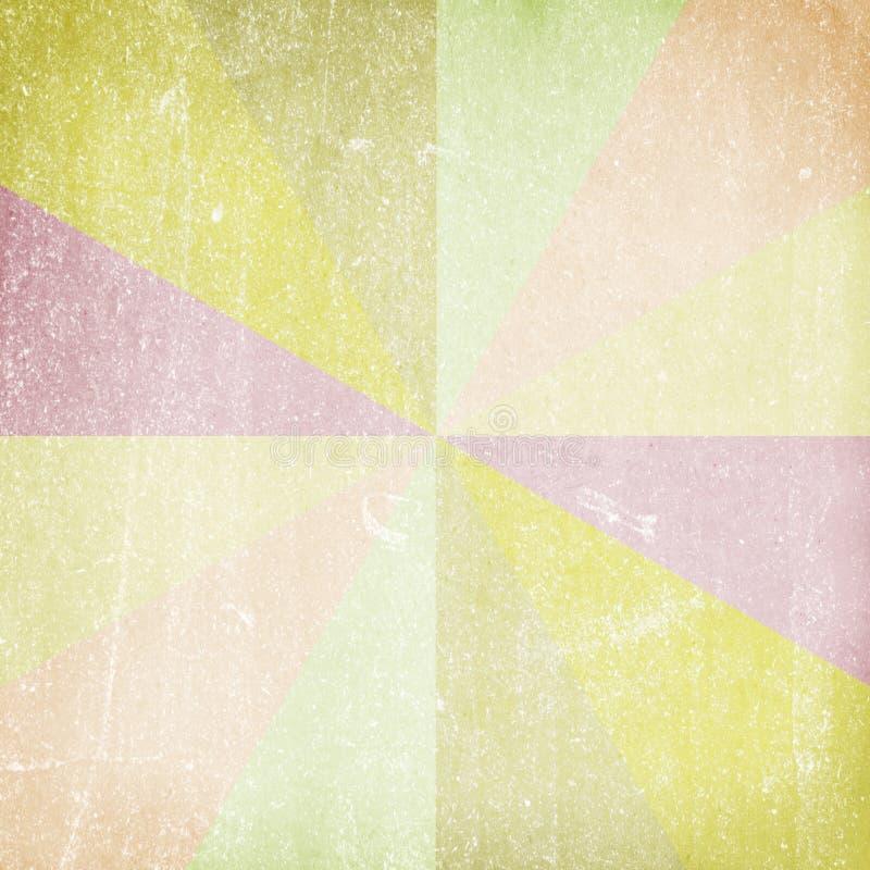 Multicolor Sunbeams. Grunge tło zdjęcia stock