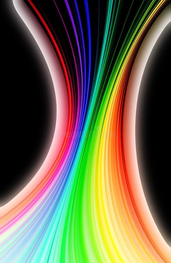 Download Multicolor tło ilustracji. Ilustracja złożonej z niezrównoważenie - 57669699