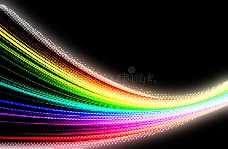 Download Multicolor tło ilustracji. Ilustracja złożonej z ogień - 57669900