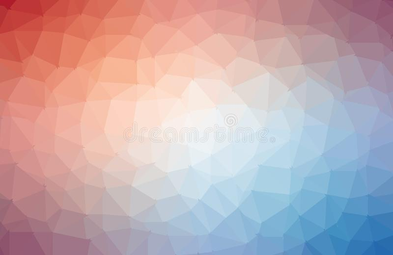 Multicolor vector abstract textured polygonal background. Blurry triangle design. Pattern can be used for background stock illustration