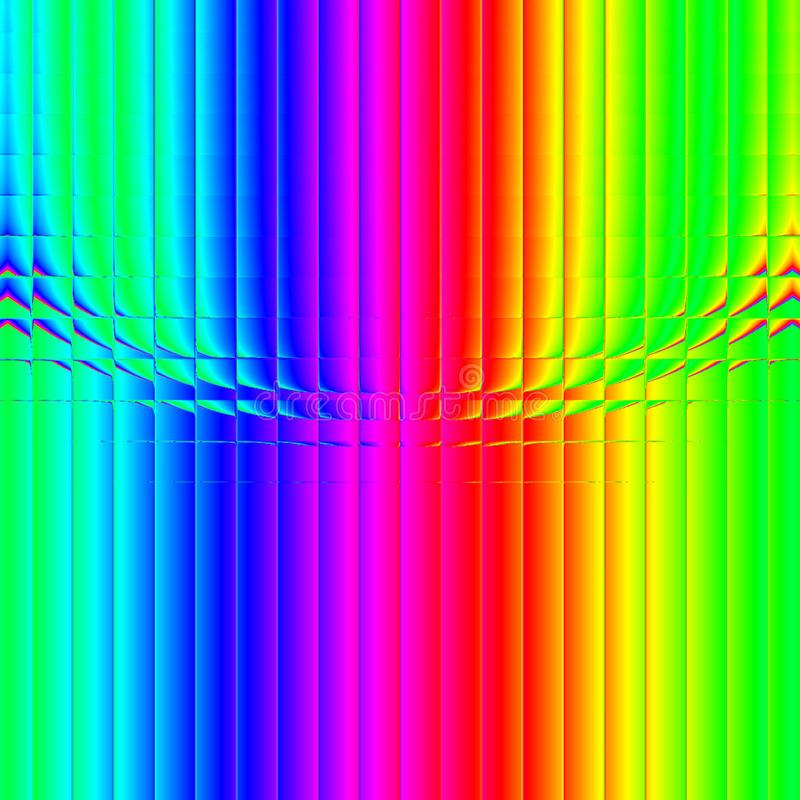Multicolored abstract background, digital illustration royalty free stock image