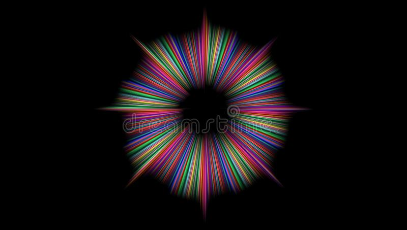 Abstract background curve. royalty free stock image