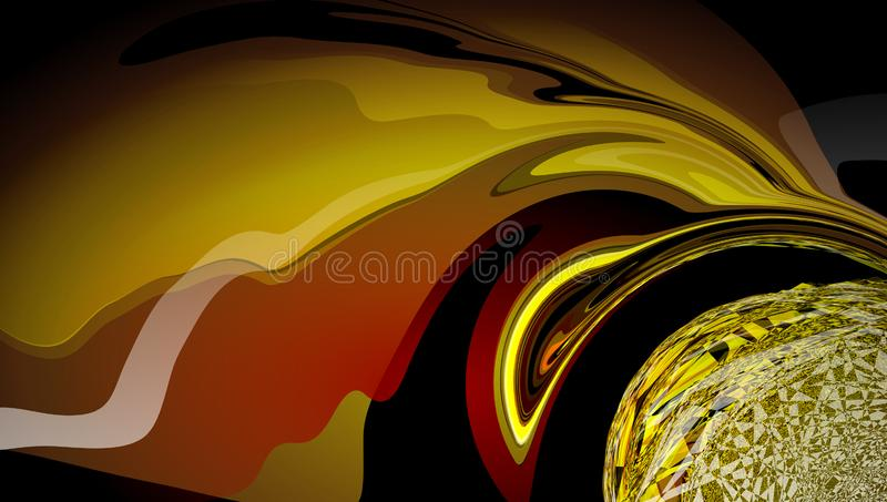 Abstract blur wavy background. royalty free stock images