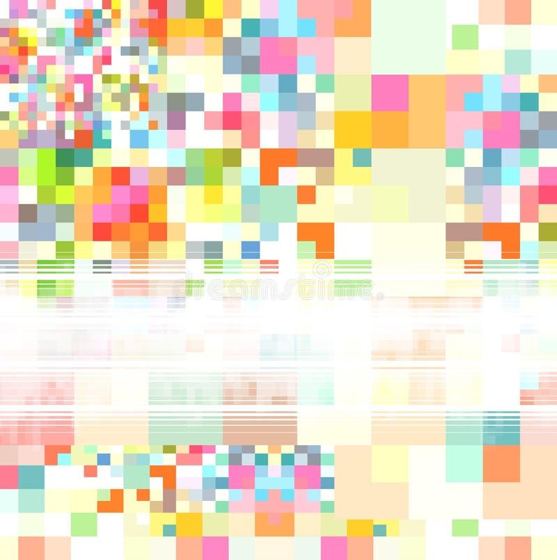 Multicolored abstracte achtergrond vector illustratie