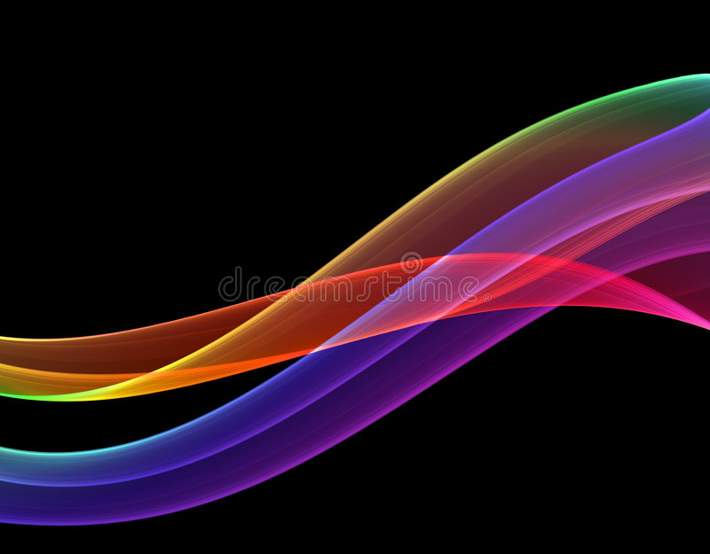 Multicolored abstractie vector illustratie