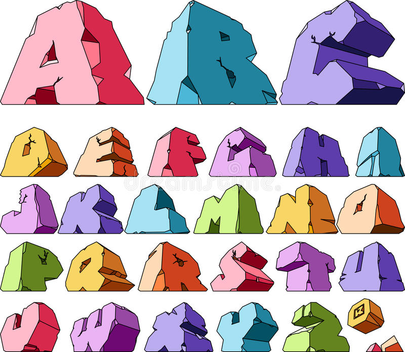 Download Multicolored Alphabet Stock Photos - Image: 10688913