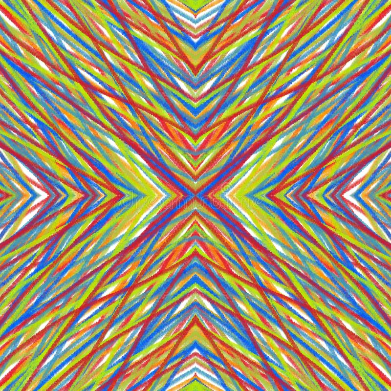 Multicolored Background. Geometric abstract colorful texture royalty free illustration