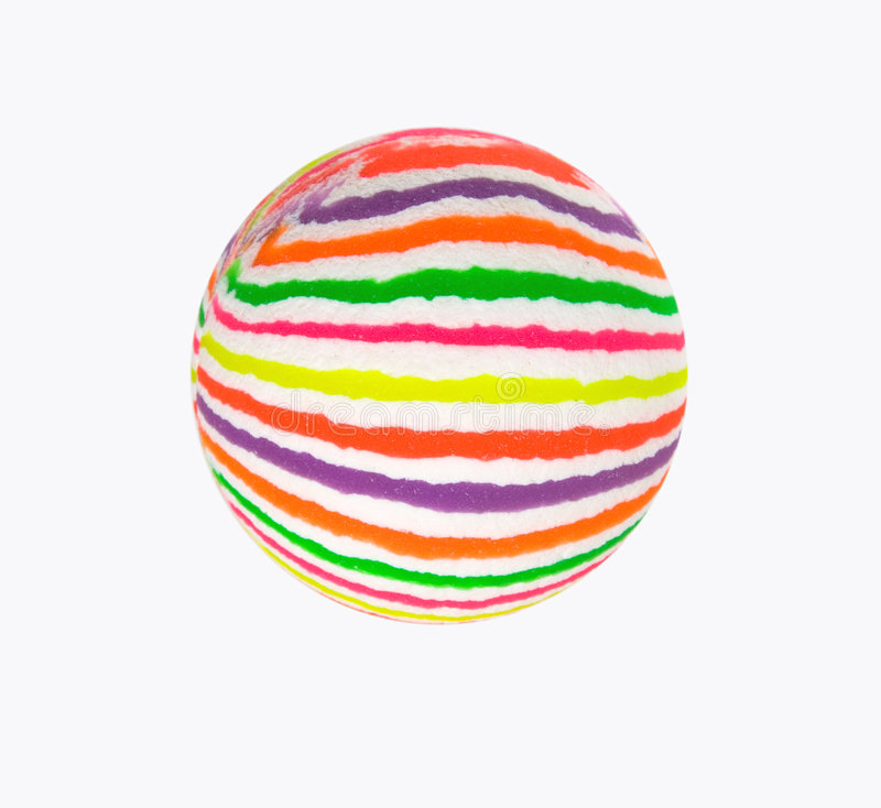 Multicolored ball royalty free stock photography