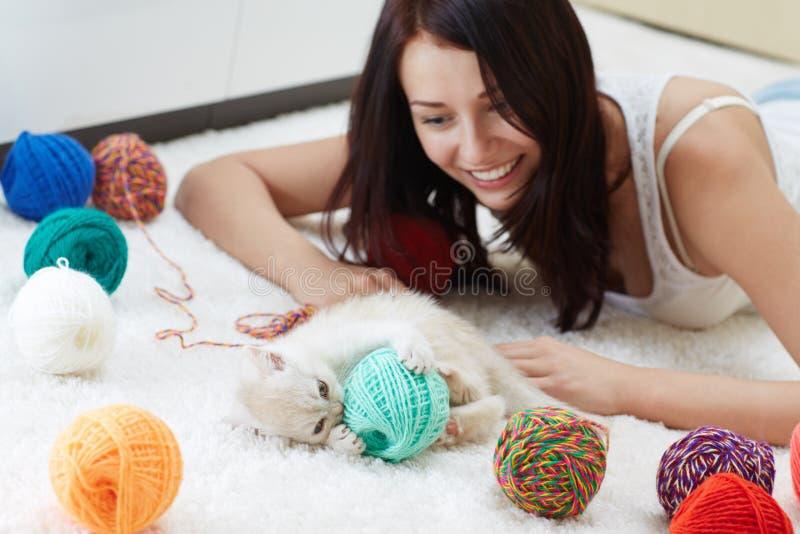 Multicolored ballen royalty-vrije stock foto's