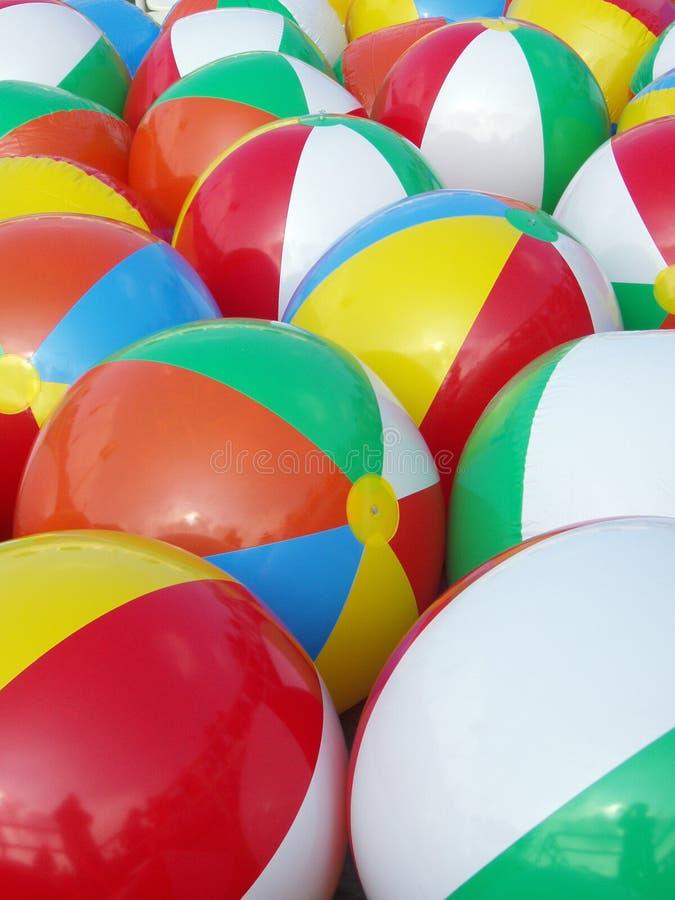 Multicolored Ballen royalty-vrije stock foto