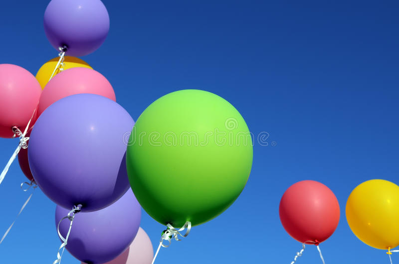 Download Multicolored Balloons Stock Images - Image: 24677724