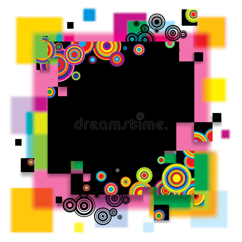 Download Multicolored banner stock vector. Image of background - 14880042