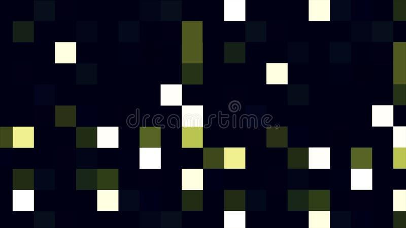Multicolored blinking pixels motion background. Colorful blinking pixels motion background. Digital Multimedia Mosaic.  vector illustration