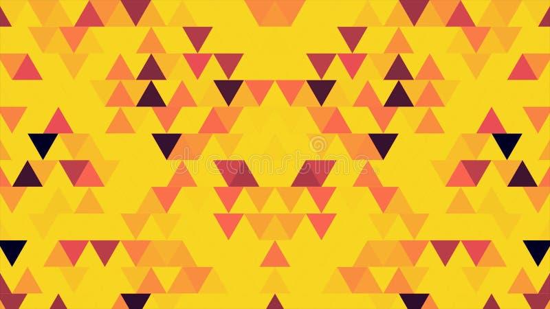 Multicolored blinking pixels motion background. Colorful blinking pixels motion background. Digital Multimedia Mosaic.  stock illustration