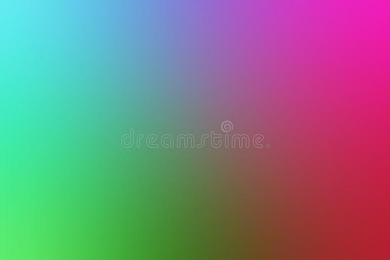 Multicolored blur abstract background vector design, colorful blurred shaded background, vivid color vector illustration. Many uses for advertising, book page vector illustration