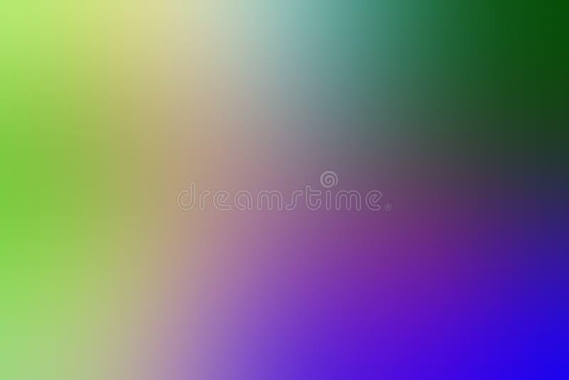Multicolored blur abstract gearceerd achtergrondbehang, vectorillustratie royalty-vrije illustratie
