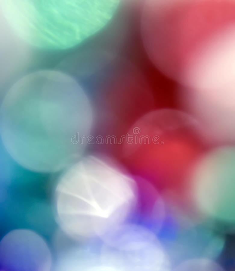 Multicolored Blurs Royalty Free Stock Image