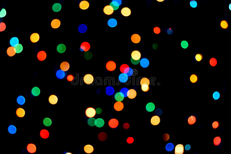 Multicolored bokeh royalty-vrije stock foto's