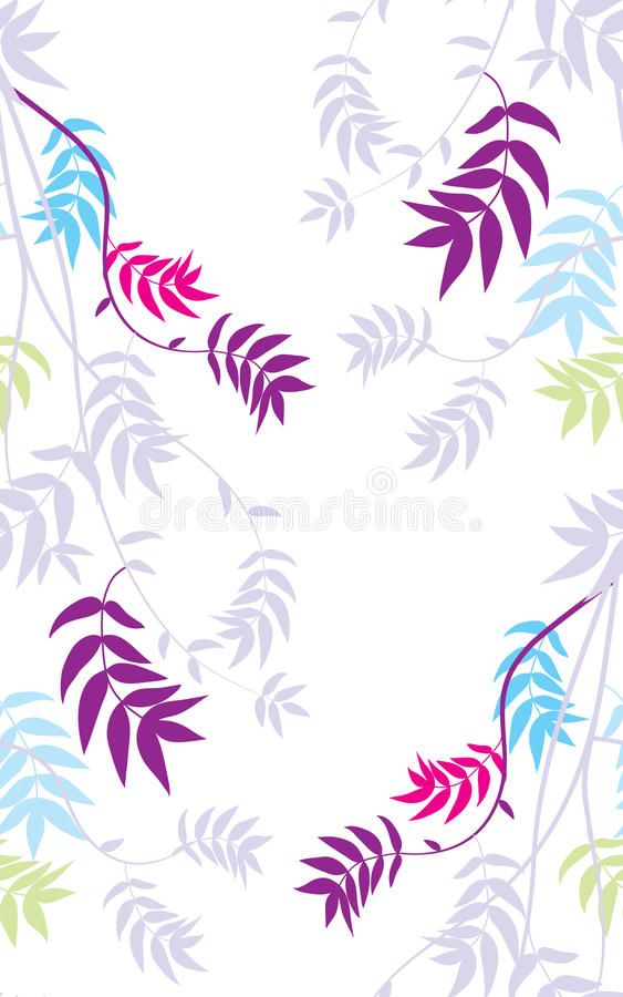 Download Multicolored Branch Seamless Background. Royalty Free Stock Images - Image: 26061979