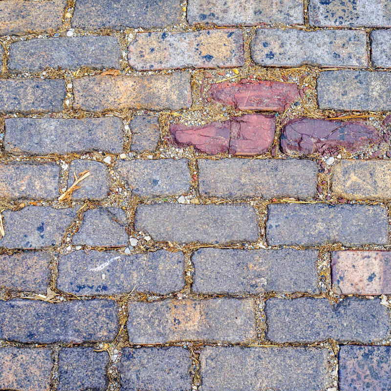 Multicolored brick abstract background texture royalty free stock images