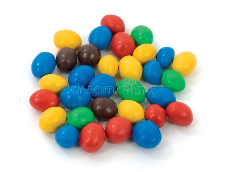 Multicolored candies stock photo