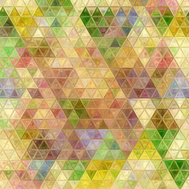 Multicolored Chaotic Mosaic. Decorative Geometrical Backdrop. Retro low poly book cover with colorful triangular stock image
