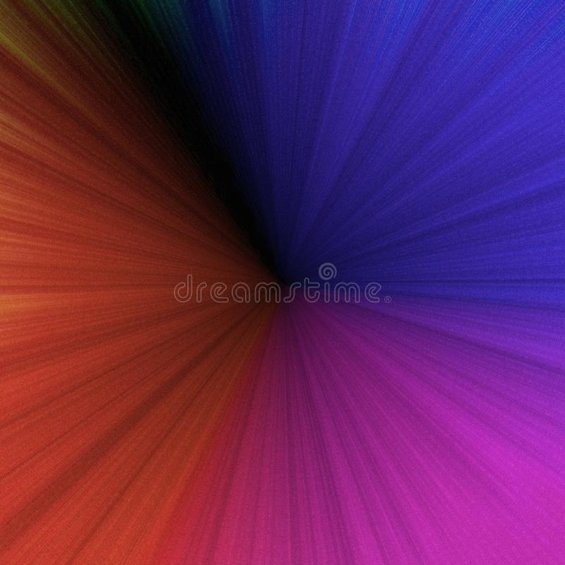 Multicolored circular stripes background royalty free illustration