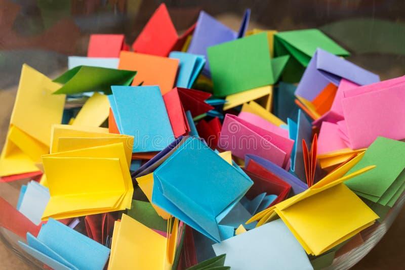 Multicolored close-up van loterijkaartjes royalty-vrije stock foto's