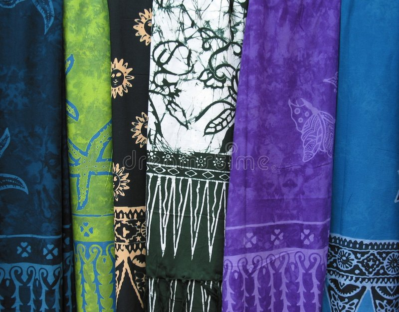 Multicolored Cloth 2 stock photos