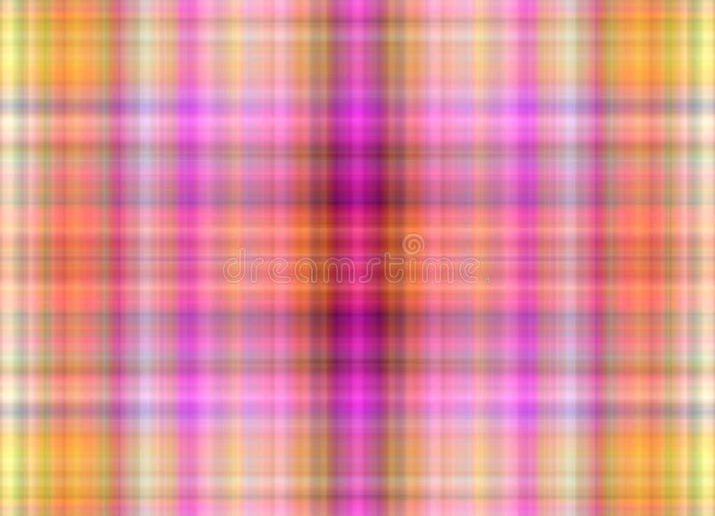 Multicolored defocused servetpatroon als abstracte achtergrond cijfer vector illustratie